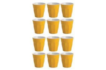 12PK Avanti Boston Melamine Two Tone Cup 300ml Coffee Tea Drink Juice Tumbler YL