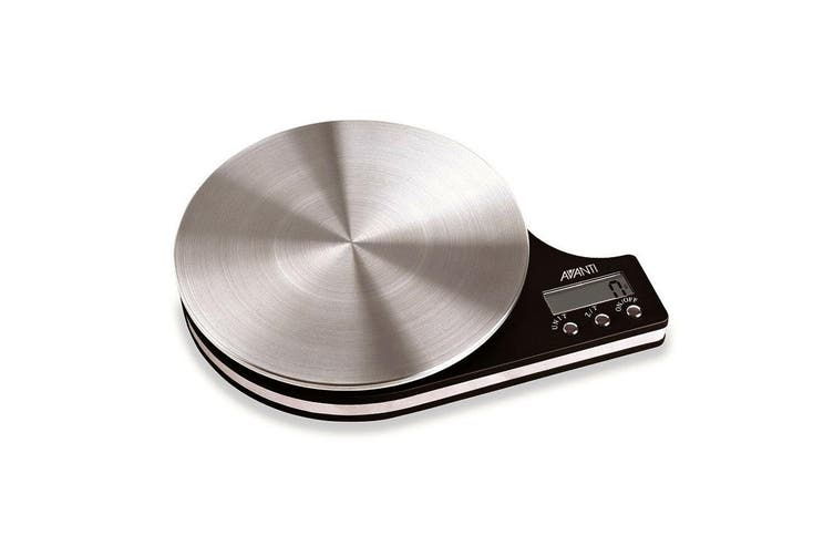 Avanti Disc Digital 5kg Kitchen Scale LCD Food Fruit Meat Weight Balance Measure