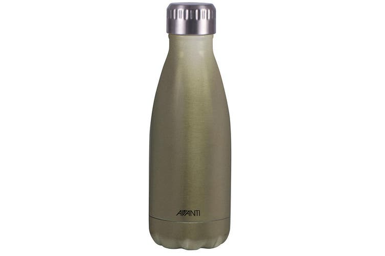Avanti 350ml Water Vacuum Thermo Bottle Stainless Steel Cold Hot Drink Champagne