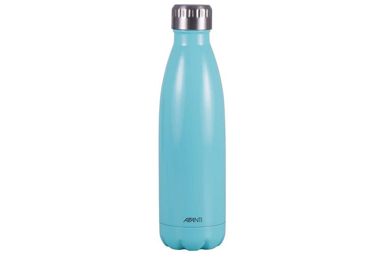 Avanti 500ml Water Vacuum Thermo Bottle Stainless Steel Cold Hot Drink Mint Teal