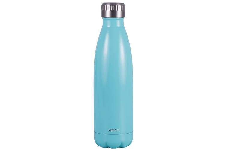 2x Avanti 500ml Water Vacuum Thermo Bottle 2 Wall Stainless Steel Cold Drink MT