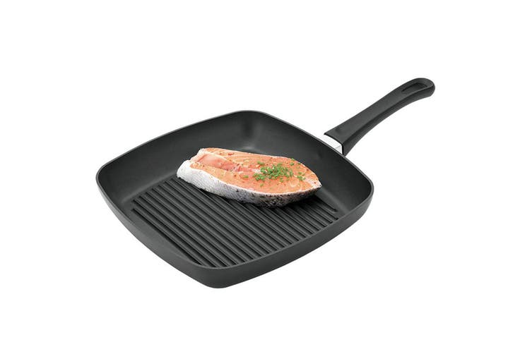 Scanpan Classic 27x27cm Square Grill Pan Ceramic Titanium Fry Cook Kitchen Tool