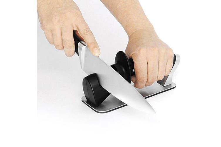 Scanpan Classic 3 Step Knife Kitchen Sharpener for Knives Blades Scissors Tools