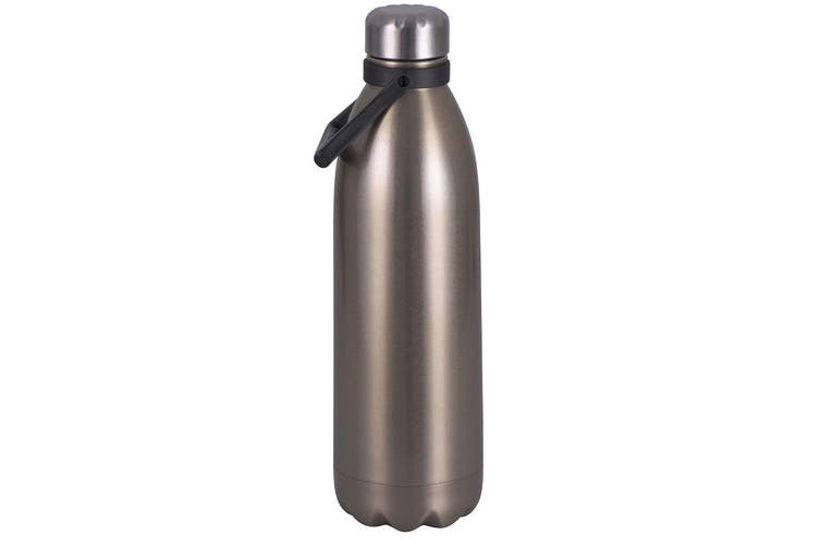 Avanti 1.5L Water Vacuum Thermo Bottle Stainless Steel Cold Hot Drink Champagne
