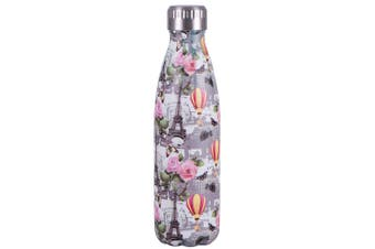 Avanti 500ml Water Vacuum Thermo Bottle Stainless Steel Cold Hot Drink - Paris