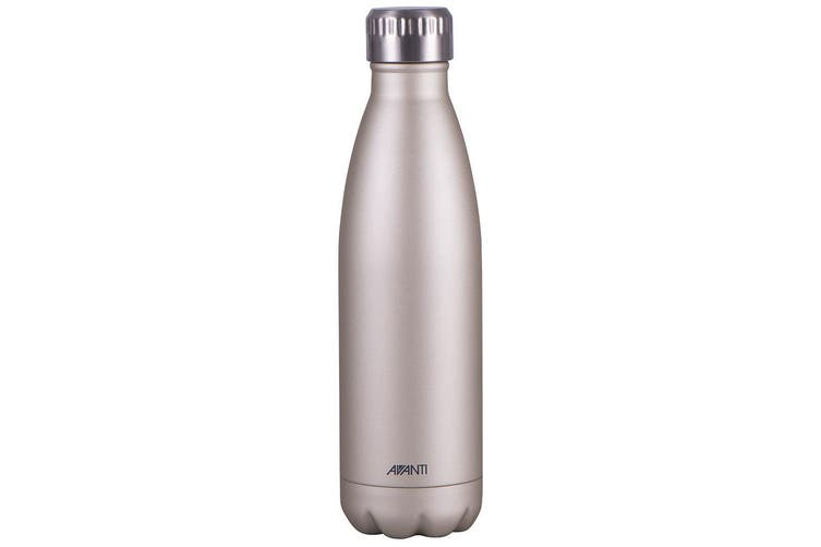 Avanti 500ml Water Vacuum Thermo Bottle Stainless Steel Cold Hot Drink Gold