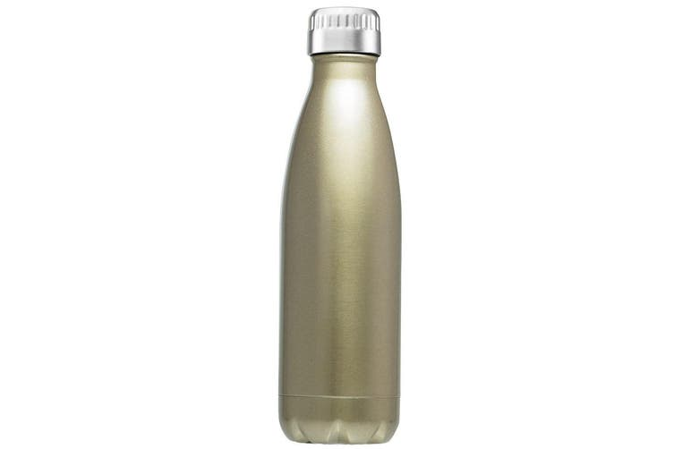 Avanti 1L Water Vacuum Thermo Drink Bottle Dual Wall Stainless Steel Gold
