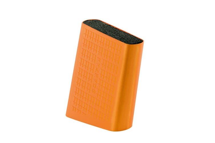 Scanpan Spectrum Universal Knife Block Cutlery Organiser Holder Storage Orange