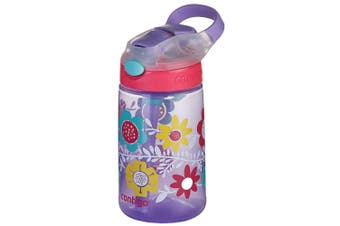 Contigo Gizmo Flip Autospout 420ml Kids Water Bottle Spill Leak Proof w Straw PP