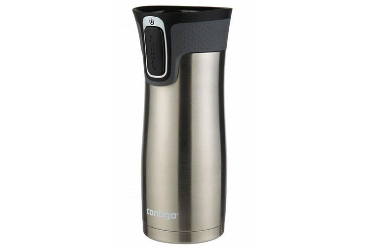 Contigo West Loop Autoseal Mug 473ml Stainless Steel Drinking Water Container SL