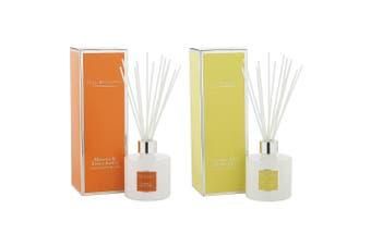 Max Benjamin Ceramic Fragrance Diffuser Combo Lemongrass & Mimosa Sweet Amber
