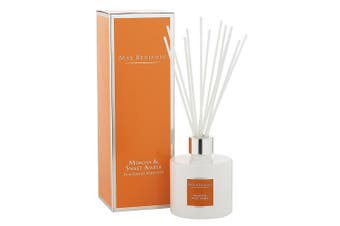 Max Benjamin Ceramic Fragrance Diffuser w 150ml Oil & Reed Mimosa & Sweet Amber