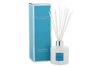 Max Benjamin Ceramic Scented Fragrance Diffuser w 150ml Oil & Reed Blue Azure