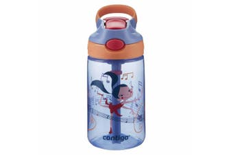 Contigo Gizmo Kids Autospout 420ml Water Drinks Bottle Spill Leak Proof Dancer