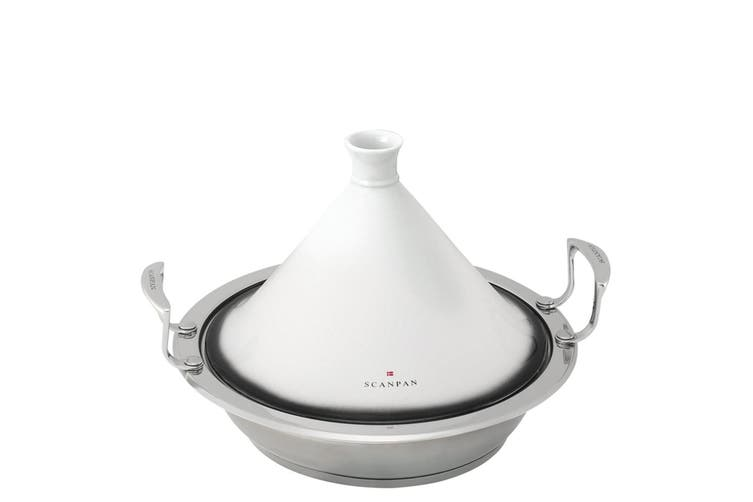 Scanpan Impact Tagine 28cm 3L Stainless Steel Kitchen Cooking Stock Pot Cookware