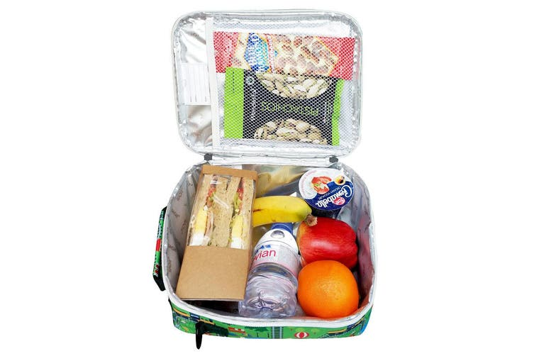 Sachi Thermal Insulated Picnic Lunch Tote Cooler Carry Case Pouch Bag Box City
