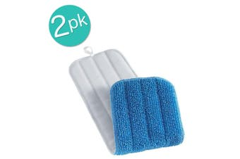 2PK E-Cloth Deep Clean Wash Tool Household Replacement For Wet Dry Mop Head
