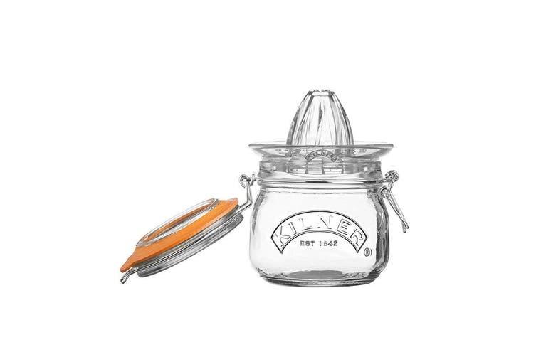 Kilner 500ml Glass Juicer Citrus Press Storage Jar w  Lid Juice Container