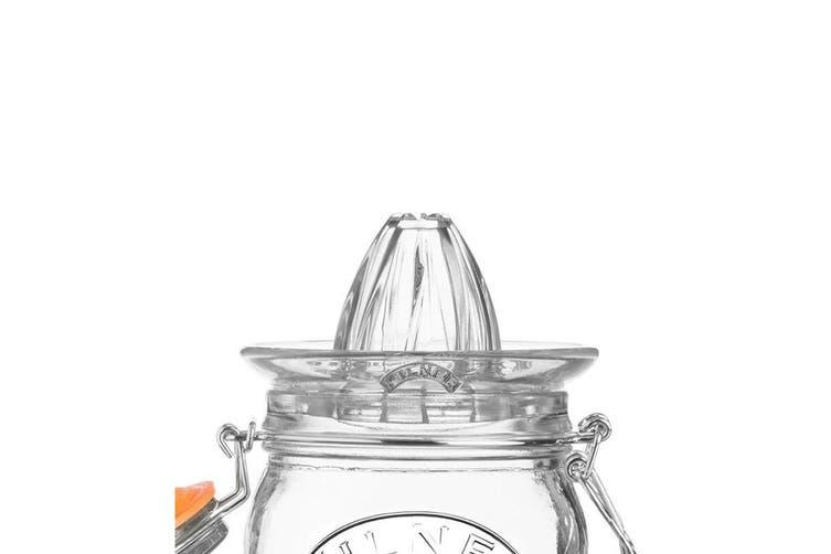 2PK Kilner 500ml Glass Juicer Citrus Press Storage Jar w  Lid Juice Container