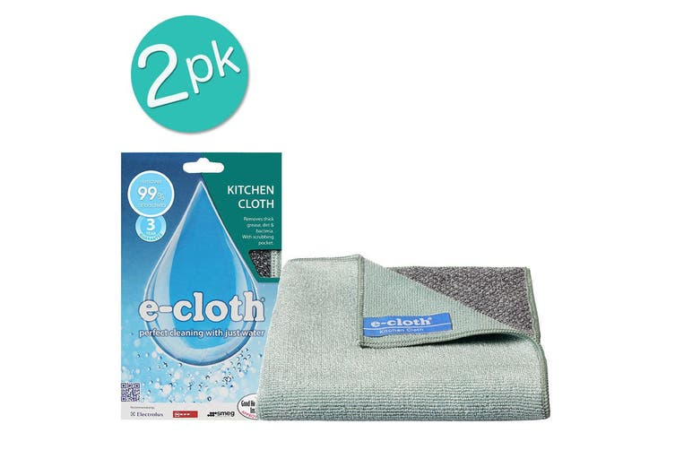2x E-Cloth Kitchen Washable Cleaning Cloths Towel Duster Polishing Clean Wash