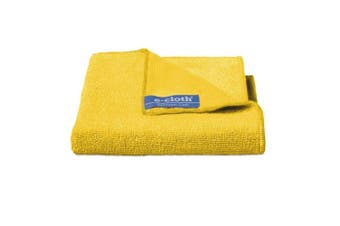 E-Cloth Bathroom Cleaning Wash Dry Polish Home Cloths Duster Towels Wipe Yellow