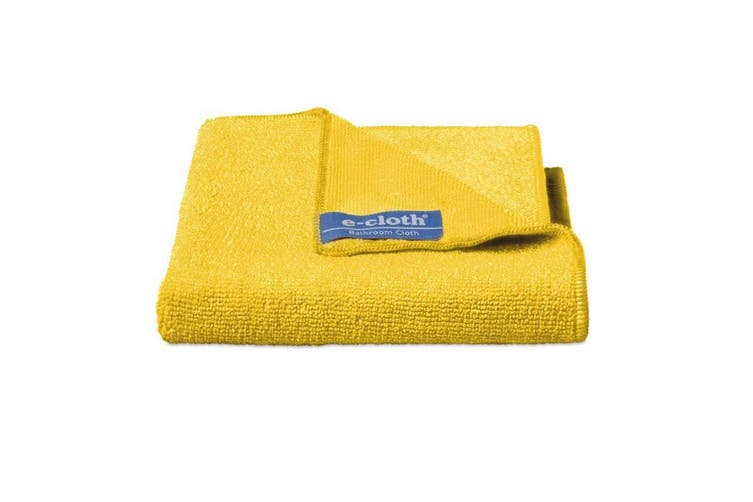 3PK E-Cloth Bathroom Cleaning Wash Dry Polish Home Cloths Duster Towels Yellow
