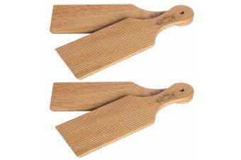 4pc Kilner 30cm Butter Paddles Homemade Shape Mould Buttermilk Natural Wood