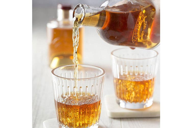 2PK Kilner 330ML 350ML Bottle Set Stackable Storage for Wine Whiskey Vinegar Oil