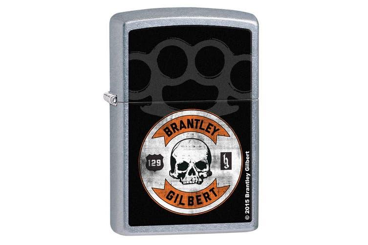 Zippo Brantley Gilbert 28995 Genuine Chrome Finish Cigar Cigarette Lighter