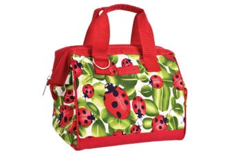 Sachi Thermal Insulated Picnic Lunch Box Cooler Carry Food Storage Bag Lady Bug