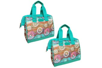 2x Sachi Thermal Insulated Picnic Lunch Box Bag Carry Food Storage Dreamtime