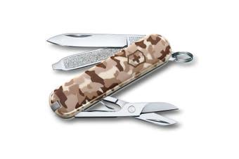 Victorinox Classic 7 Tools Swiss Army Pocket Knife Blade Desert Camouflage