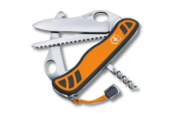 Victorinox Orange Hunter XT Grip Large Pocket Swiss Army Knife Tool Corkscrew