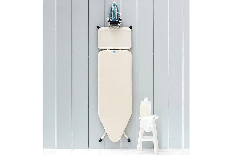 Brabantia Heat Resistant Wall Mount Holder f  Iron Ironing Board Storage Laundry