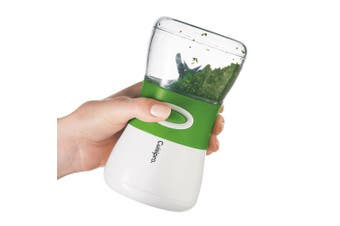 Cuisipro Cordless Herb Chopper w  Safety Lock Dishwasher Safe Cup Scraper Pulse