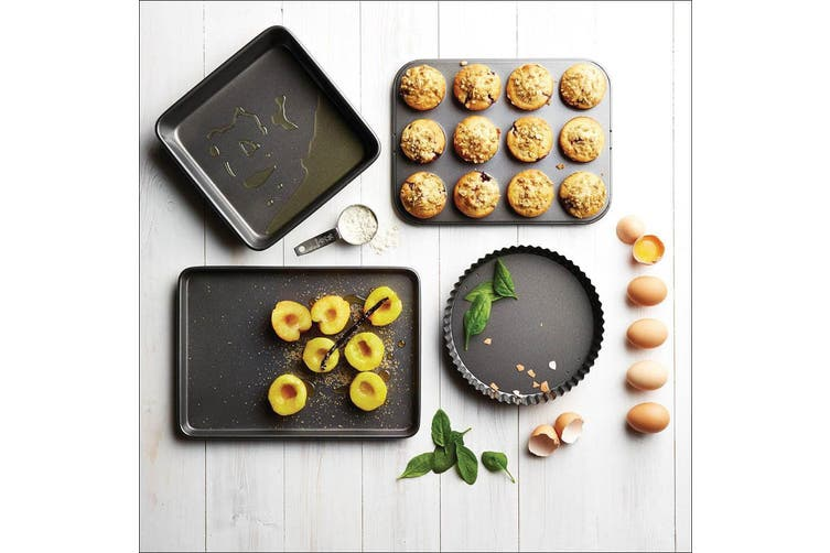 Mastercraft Non-Stick 6-Cup American Baking Muffin Cupcake Mold Tray Pan Cups