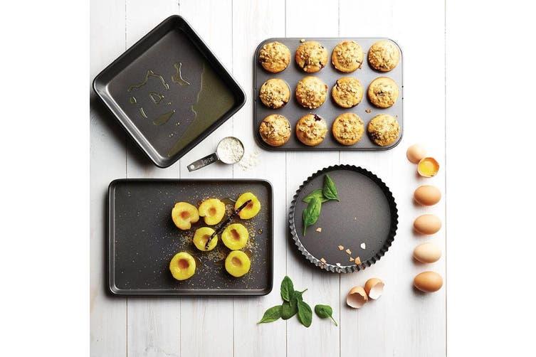 Mastercraft Stainless Steel 12 Cup Macaron Whoopie Pie Pan Non Stick Baking Tray