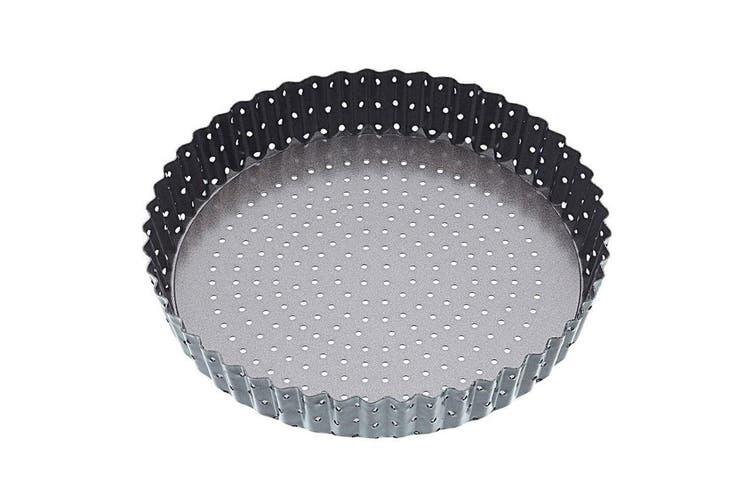 Mastercraft 23cm Crusty Bake Round Pan Tin Flan Quiche Pie Dish w Removable Base