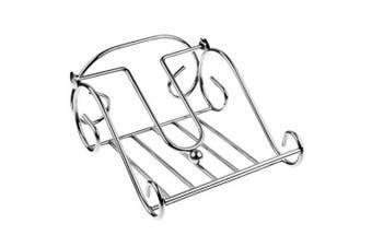 Entree 17.5cm Scroll Kitchen Table Napkin Serviette Holder Storage Stand Chrome