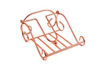 Entree 17.5cm Scroll Kitchen Table Napkin Serviette Holder Storage Stand Copper