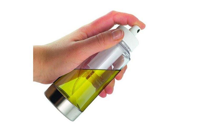 2PK Appetito Oil Infuser Dispenser Pump Mist Kitchen Food Cooking Sprayer Bottle