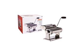 Al Dente Pasta Spaghetti Fettuccine Machine w  150mm Detachable Cutters Clamp