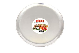 Al Dente Round Aluminium Pizza Oven Pan Tray 14 35cm Diameter Cooking Baking