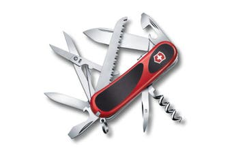 Victorinox Red Evolution 17 Pocket Swiss Army Knife Tool w  Screwdriver Scissors
