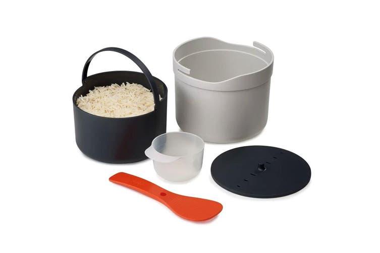 Joseph Joseph M-Cuisine Plastic Microwave Rice Grain Cooker Kitchen Home White