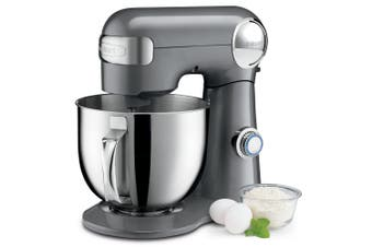 Cuisinart 5.2L 500W Precision Master Stand Mixer Brushed Chrome Bench Top Mix