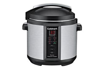 Cuisinart CPC-610A Pressure Slow Cooker Plus 6L Stainless Steel Steamer 1000W