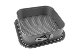 Raco Aerolift 23cm Square Springform Pan Mould Kitchen Baking Mold Tin Silver