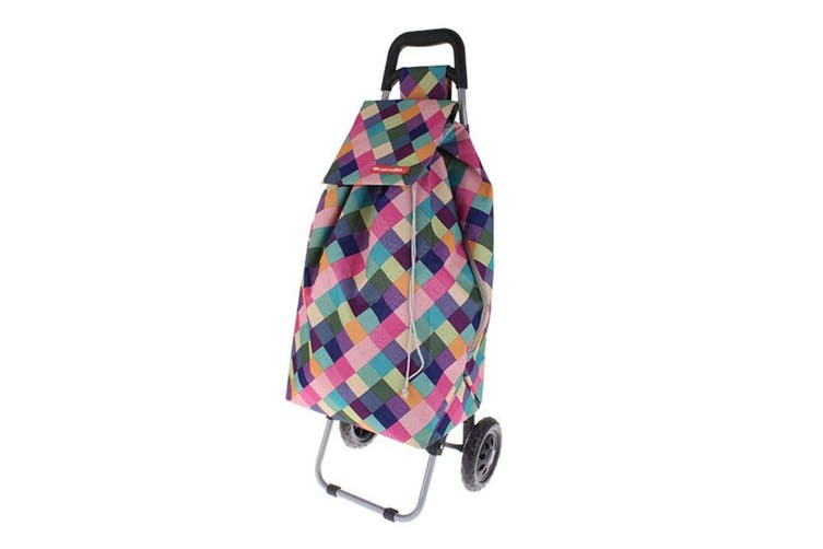 Shop Go 12kg Sprint Shopping Trolley Grocery Food Bag Cart Storage 2 Wheels HLQN