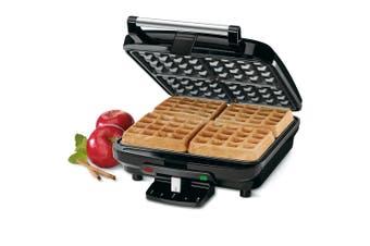 Cuisinart 4 Slice Electric Belgian Waffle Breakfast Dessert Maker Non-Stick SLV